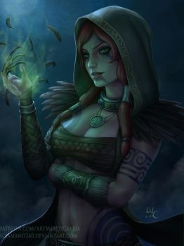The Morrigan Woodland Rogue (Patreon reward) by Sciamano240