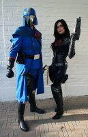 Cobra Commander and The Baroness, part 2 by RoyallyCrimson