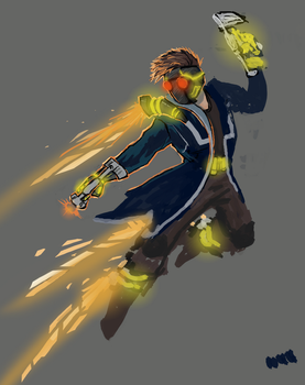 Starlord WiP by MissingMonsters
