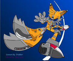 Trakker's Mecha Tails by RaeLogan