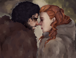 Kissed By Fire by TheHatterJames