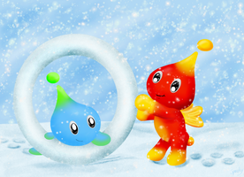 Snowy Snowy Chao by Speedy1236