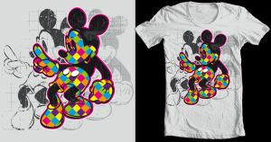 Mickey lumo Tee sub by Killswitch-Chris