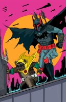 Batman/Boba Fett And Ewok Robin! by MatthewPetz