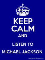 Keep Calm MJ 1 by ButterfliesForMJ