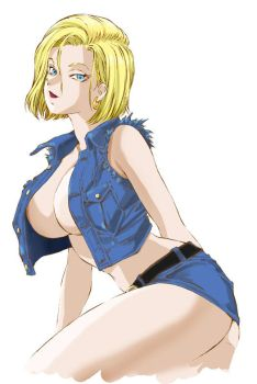 DORAGON BALL Android 18 by Shinkaigyo