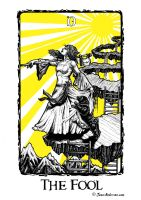 Fool tarot by James-Anderson