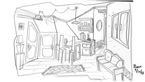 Roommate wanted common space concept 5 by Captainfusion