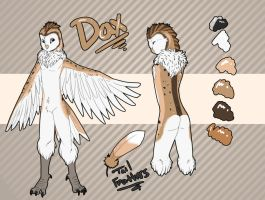 Barn Owl Dax by Tartii