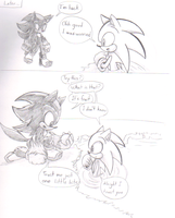 Sonadow: Forbidden Feelings Comic 5 by sonicartist16
