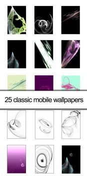 25 classic mobile wallpapers by chrischn