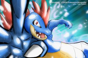 Feraligatr by super-tuler