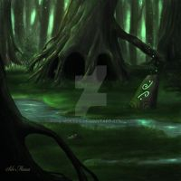 Green Forest by Nuktos