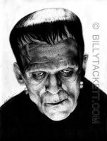 Frankenstein's Monster by billytackett