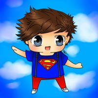 Louis Tomlinson- Chibi by AngelNightmare1441