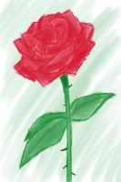 A rose is a rose is a rose by Gato-Nephist