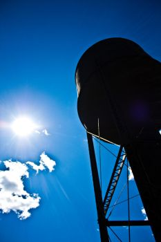 A flippin' water tower by sshaw
