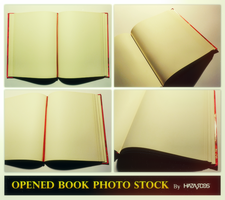 Opened Book Photo(s) Stock by HAZARDOS