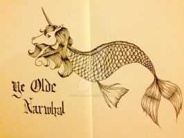 Ye Olde Narwhal by OcularFracture