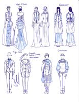 Victorian and Medieval Fashion Fusion by TigerBomberX