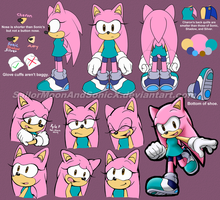 Charon the Hedgehog Reference and Bio by SailorMoonAndSonicX