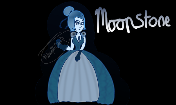 {SUOC} Blue Moonstone by Midnight-Colors
