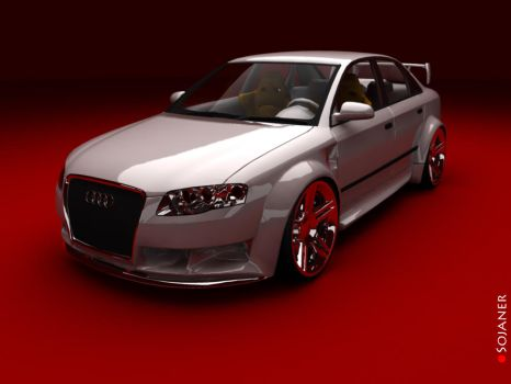 Again the Audi A4 Street by Sojaner