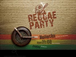 Reggae Poster by PixelDazed