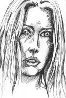 Illyria pen sketch by Tumblekax