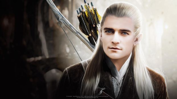 Legolas (Orlando Bloom) Hobbit. VIDEO by push-pulse