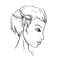 Drie's Profile - Pencil by ScarletHost