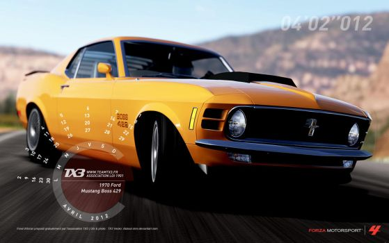 1970 Ford - Mustang Boss 429 by about-zero