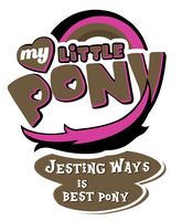 MLP Commission - Jesting ways is Bestpony by MLPBlueRay