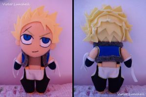 Fairy Tail Sting Eucliffe plushie by VioletLunchell