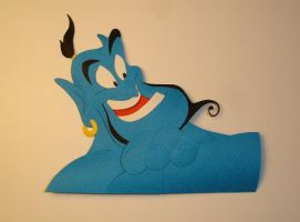 Genie Detail by paperfetish