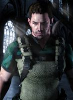 Captain Redfield by kingofshadows26