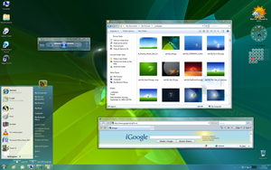 Win7 on XP with large icons by stayman