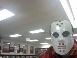 Jason In The Library by AYF100