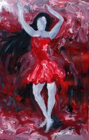 red dancer by Blacleria