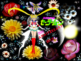 Pretty Soldier Sailor Moon - 20th Anniversary 2012 by Paul774