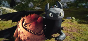 Toothless x Meatlug Manip by lilgerndt