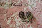 Mint Chocolate Earrings by Demi-Plum