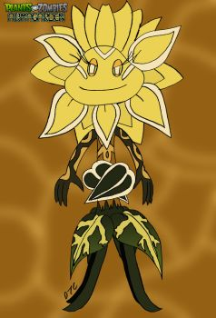 (OLD) PvZ: Armagarden - Sunflower Queen by Rose-Supreme