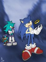 Sonic, Sin and ? by Psychograve