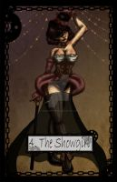 Steampunk Tarot Showgirl by TheBlindProphetess