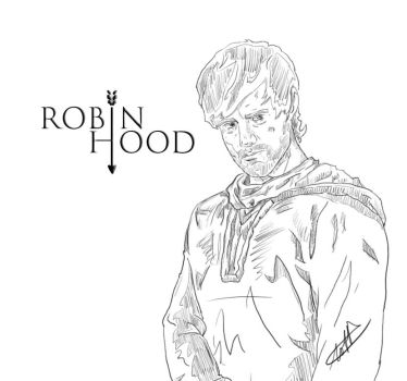 BBC Robin Hood 2007 BW by wernerth