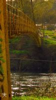 Suspension Bridge in Osorno by REGGDIS