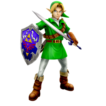 Ocarina of Time: Adult Link Render by Nibroc-Rock