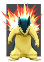 Comm: Typhlosion by Natsuakai