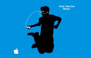 iPod Ad Wallpaper by macguy11508